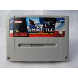 Full Throttle All-American Racing SNES Modul