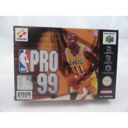 NBA Pro 99 N64 OVP