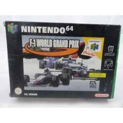 F-1 World Grand Prix N64 OVP
