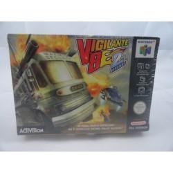 Vigilante V8 2ND Offense N64 OVP seald