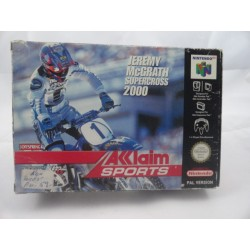 Jeremy McGrath Supercross 2000 N64 OVP