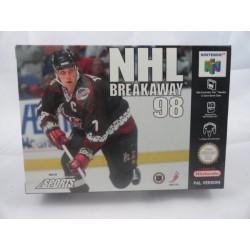 NHL Breakaway 98 N64 OVP