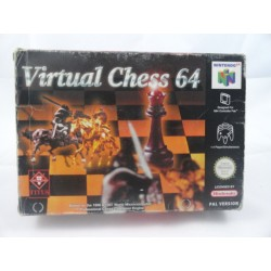 Virtual Chess 64 N64 OVP