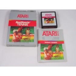 ATARI 2600 Real Sports Tennis