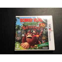 Donkey Kong Country 3D Returns  3DS Seald
