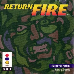 Return Fire 3DO Panasonic