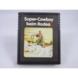 Super-Cowboy beim Rodeo