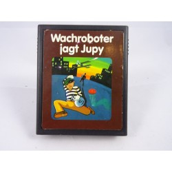 Wachroboter jagt Jupy