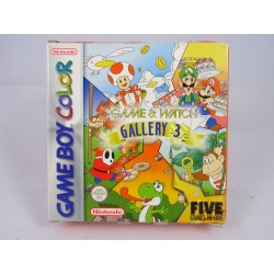 Game and Watch Gallery 3 Gameboy Color OVP