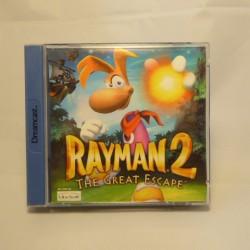 RAYMAN 2  SEGA Dreamcast