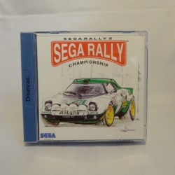 SEGA RALLY SEGA Dreamcast