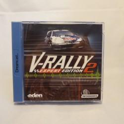 V-RALLY expert  SEGA Dreamcast
