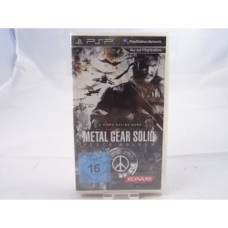 Metal Gear Solid Peace Walker Seald