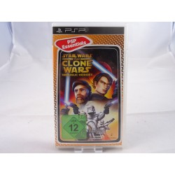 Star Wars The Clone Wars Republic Heroes PSP Essentials