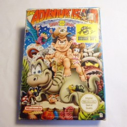 THE ADVENTURE ISLAND 2 NES OVP