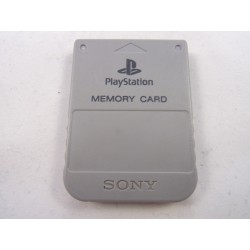 Memory Card Playstation Original