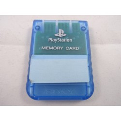 Memory Card Playstation Blau