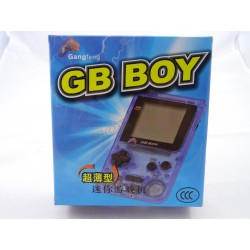 Gameboy Blau Transparent