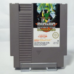 BIONIC Commando Capcom NES