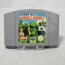 Army Men Sarge's Heroe's N64