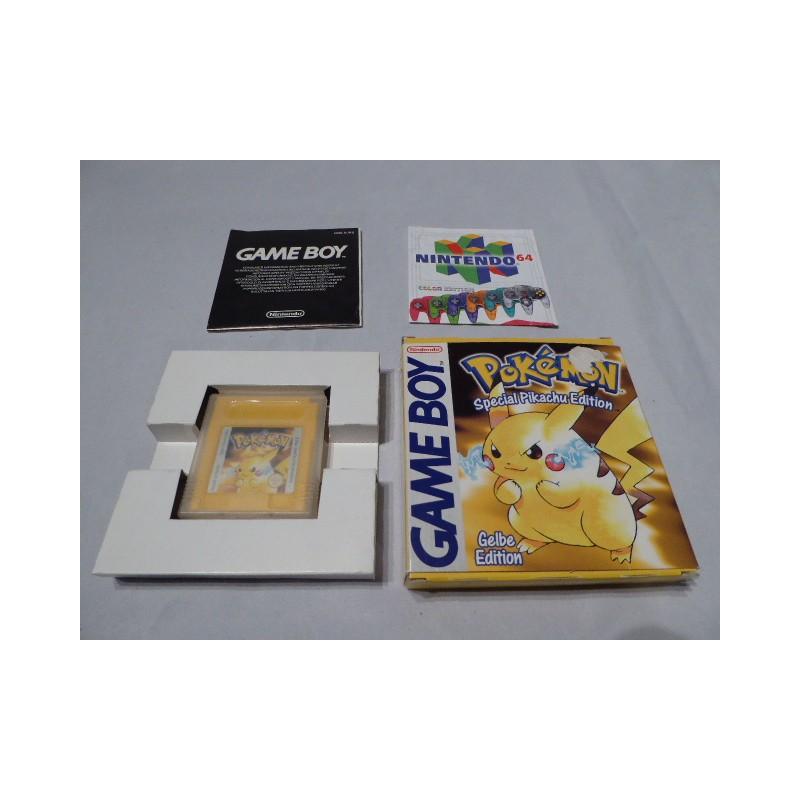 pokemon gelbe etition gameboy ovp. Black Bedroom Furniture Sets. Home Design Ideas