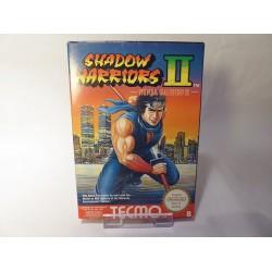 SHADDOW WARRIORS 2 NES OVP